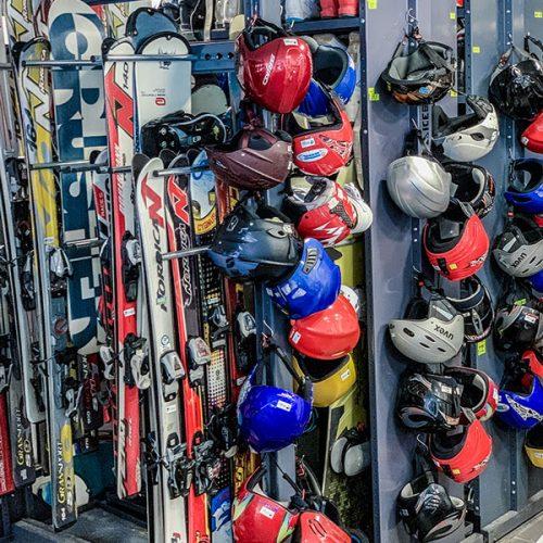 Skirent Hlubočky půjčovna lyží